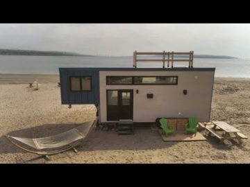 A Tiny house on the Beach